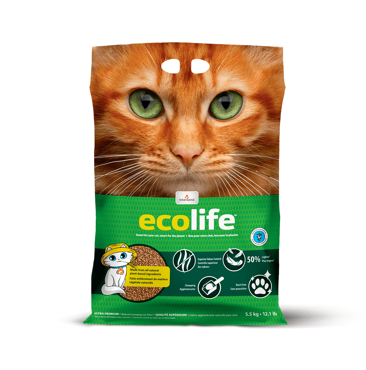 Ecolife — Biodegradable clumping litter